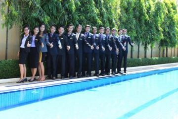 Starry Angkor Hotel Team